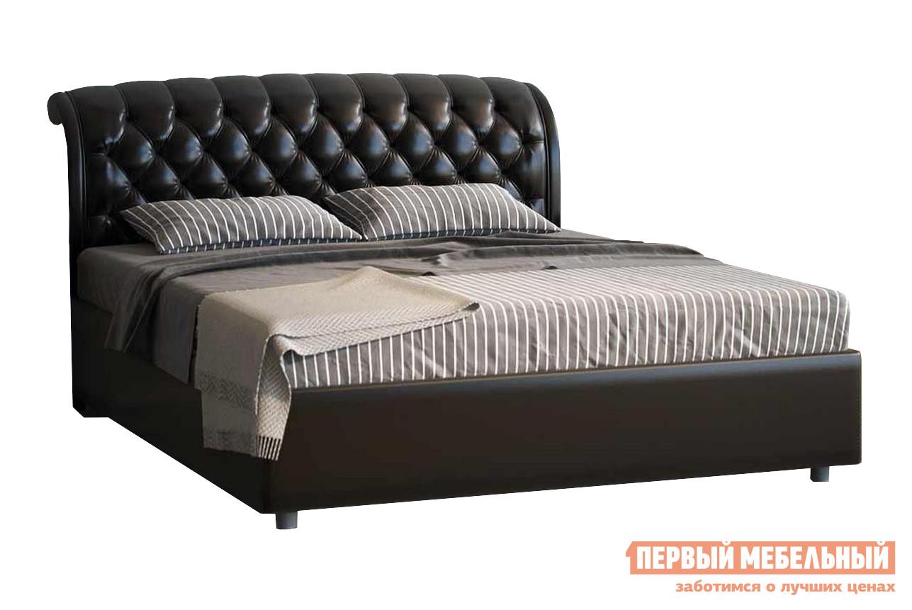 Двуспальная кровать Первый Мебельный Кровать Венеция с ортопедическим основанием