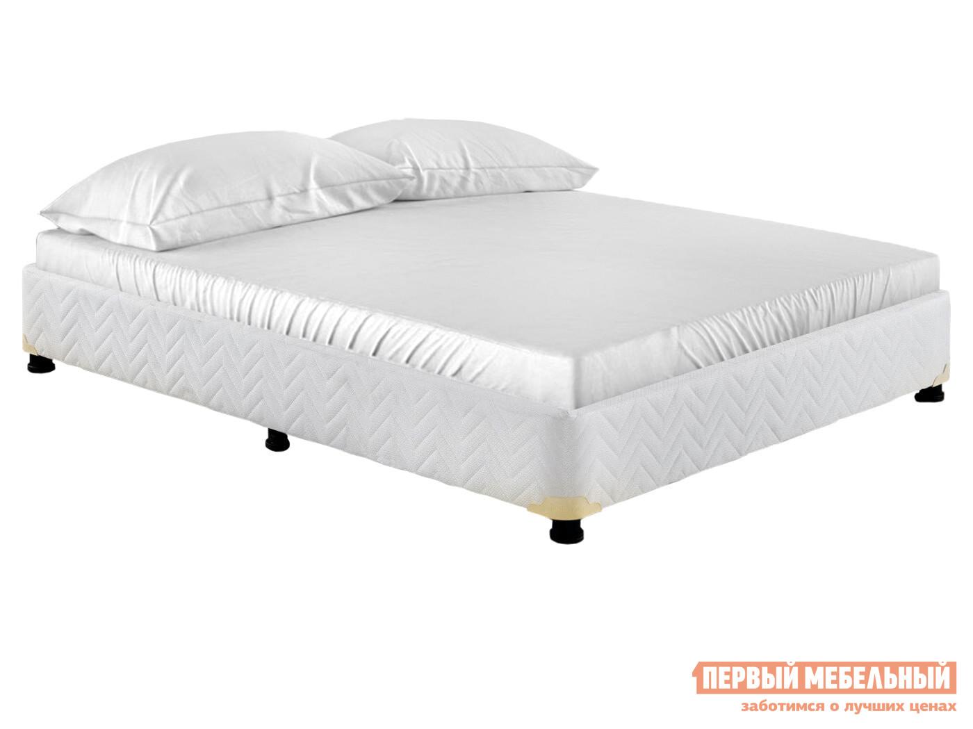 Двуспальная кровать  База кровати универсал 140х200, 160х200, 180х200 Белый, 1400 Х 2000 мм