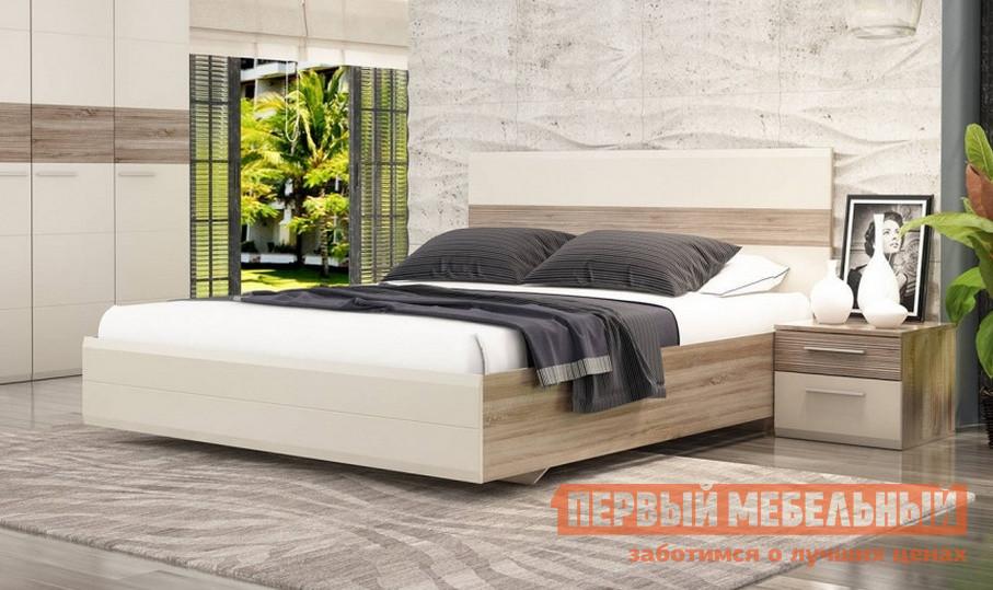 Двуспальная кровать Первый Мебельный Кровать Мишель 10 с подъемным механизмом
