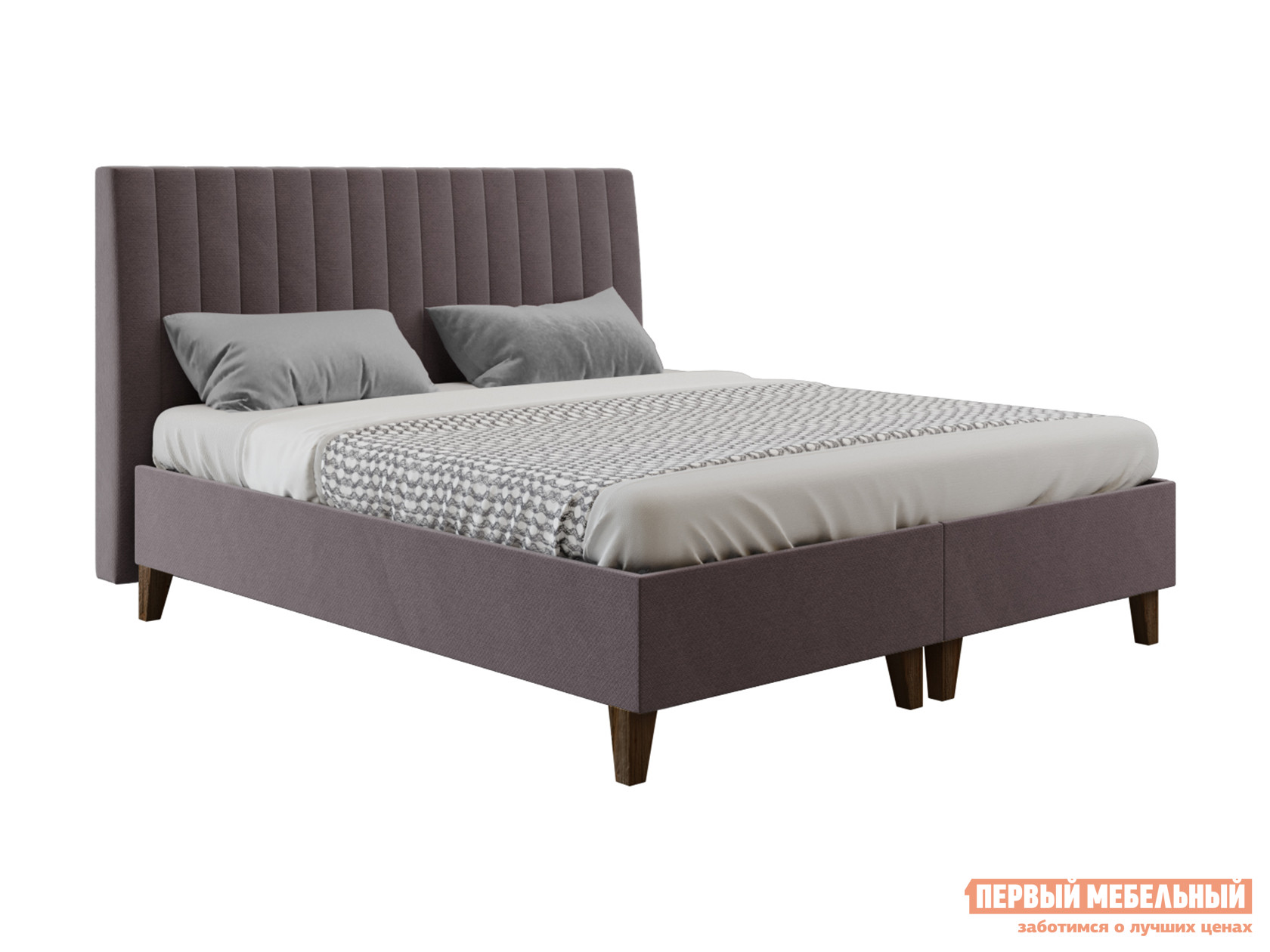 Двуспальная кровать  Кровать Вивент с подъемным механизмом 140х200, 160х200, 180х200 Серый, 160х200 см