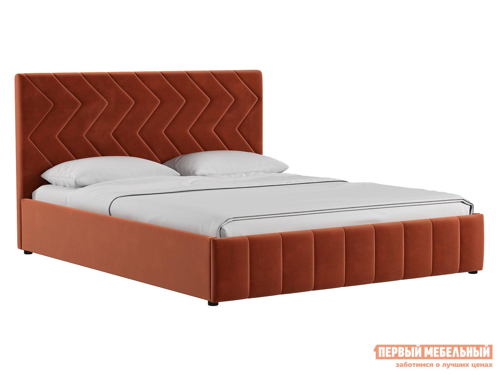 Двуспальная кровать Первый Мебельный Кровать Милана с подъемным механизмом 160х200