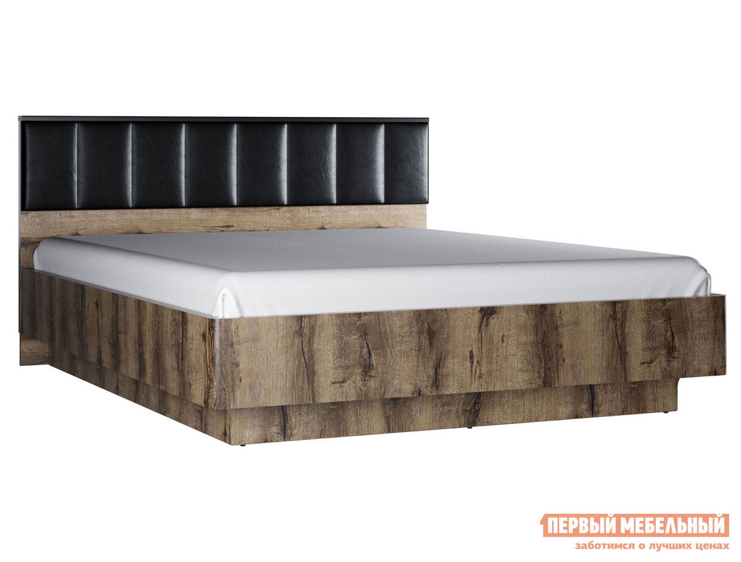 Кровать с подъемным механизмом Первый Мебельный Кровать Джагер с мягким изголовьем и ПМ 160х200