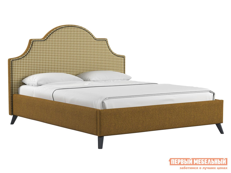 Двуспальная кровать Первый Мебельный Кровать Фаина с подъемным механизмом 160х200