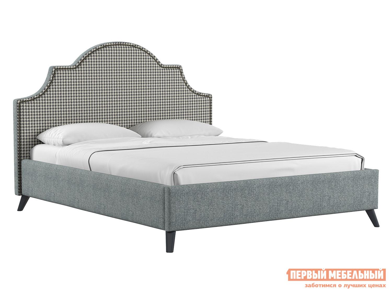 Двуспальная кровать  Кровать с подъемным механизмом Фаина Серый, рогожка, 1600 Х 2000 мм
