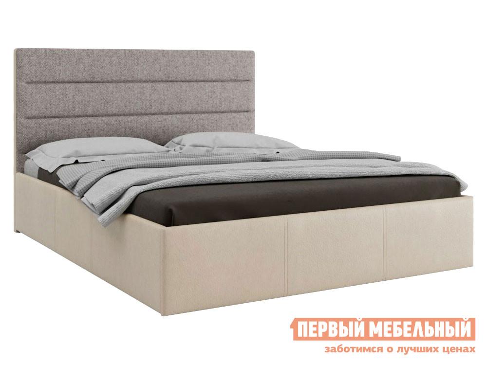 Кровать с подъемным механизмом Первый Мебельный Кровать с подъемным механизмом Флора 160х200