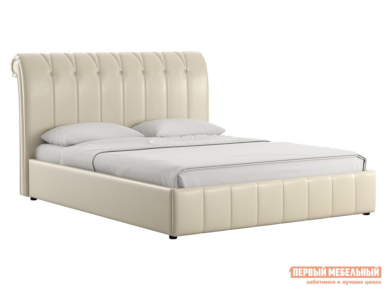 Двуспальная кровать Первый Мебельный Кровать с подъемным механизмом Августа 160х200
