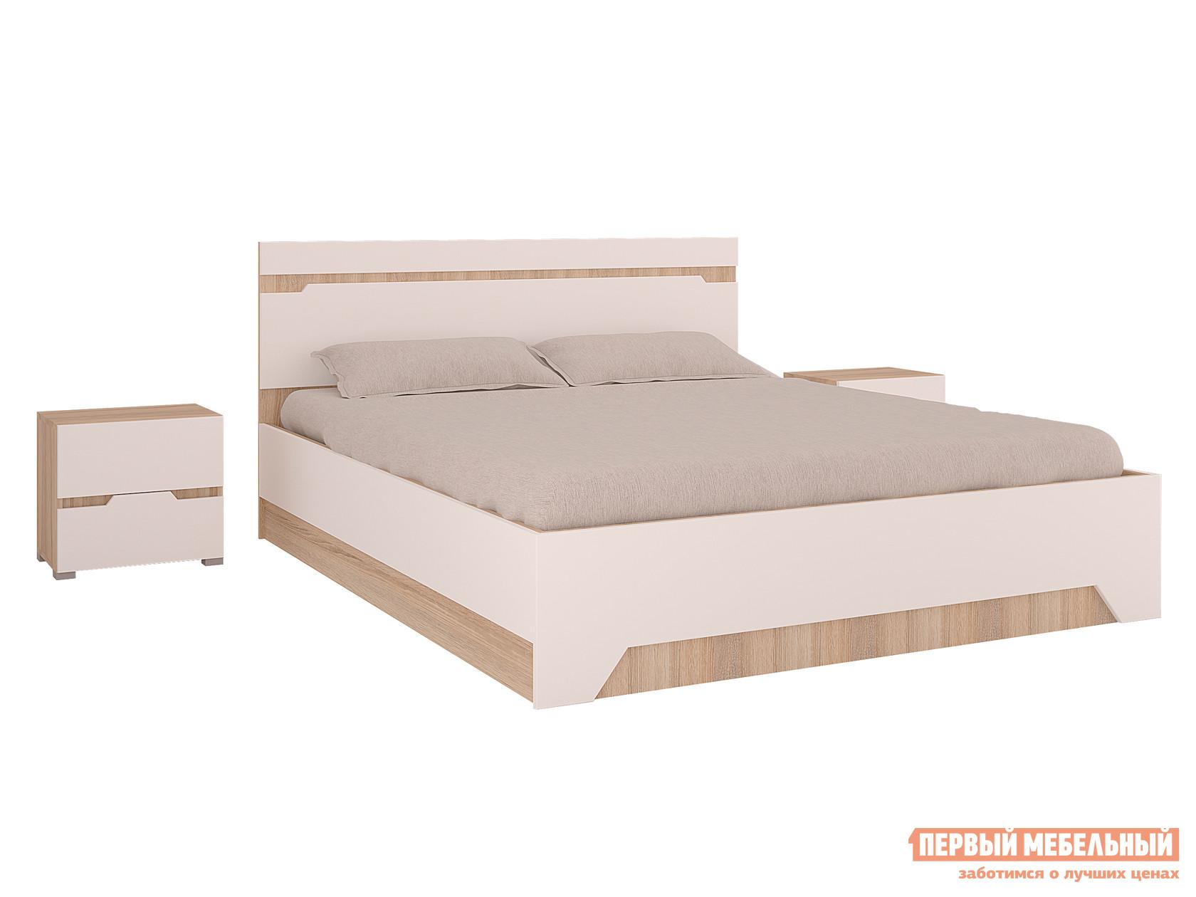 цены Двуспальная кровать Первый Мебельный Кровать Анталия с ПМ