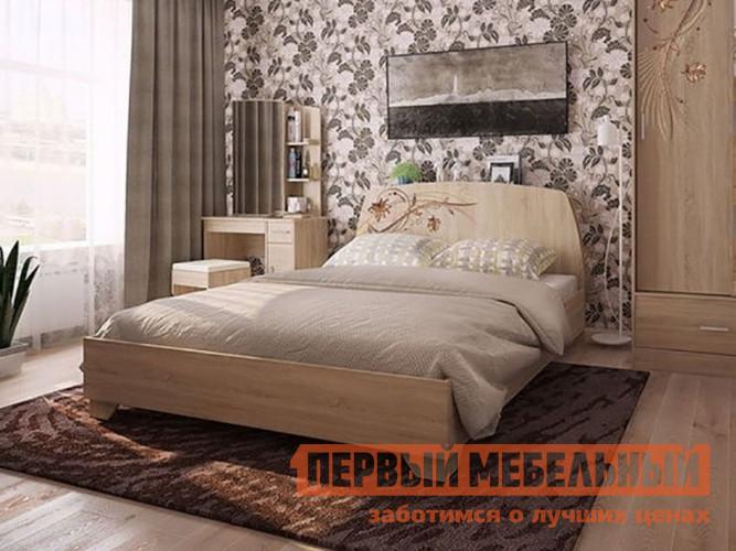 Двуспальная кровать Первый Мебельный Виктория-1 Кровать 1.6 кровать