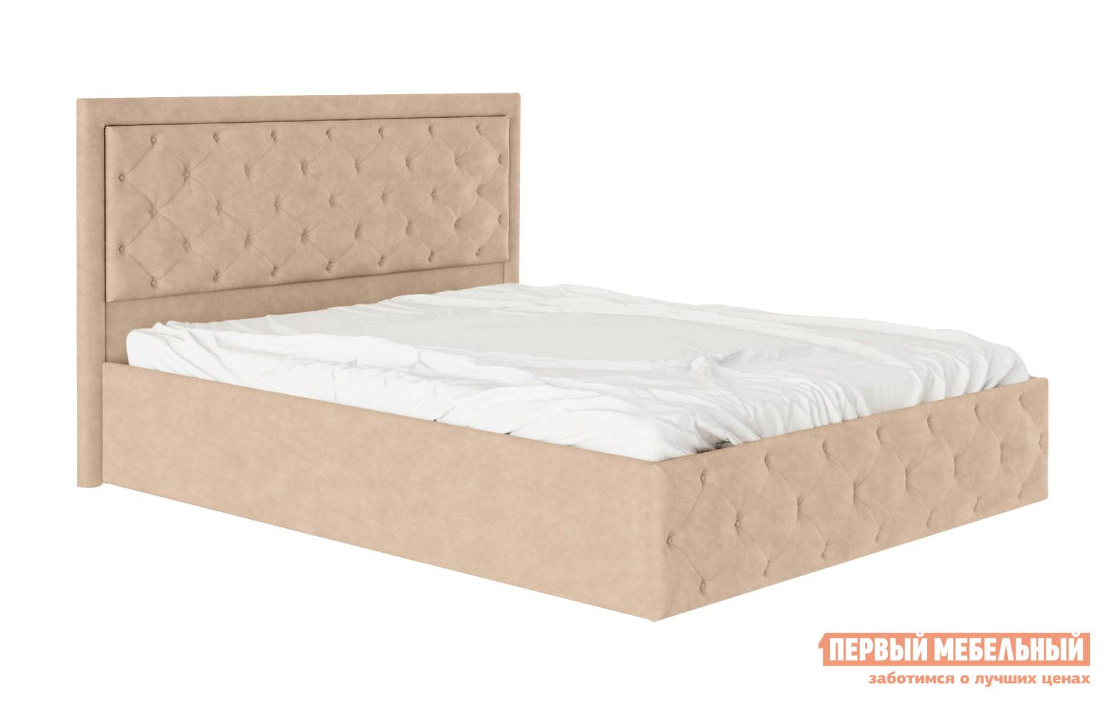 Двуспальная кровать Первый Мебельный Кровать Верона двуспальная кровать erica в ткани iris 180 x 200