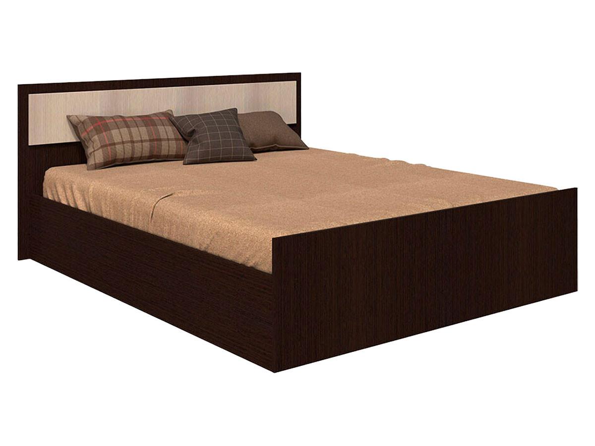 Двуспальная кровать Первый Мебельный Кровать Фиеста двуспальная кровать первый мебельный кровать оливия 160х200