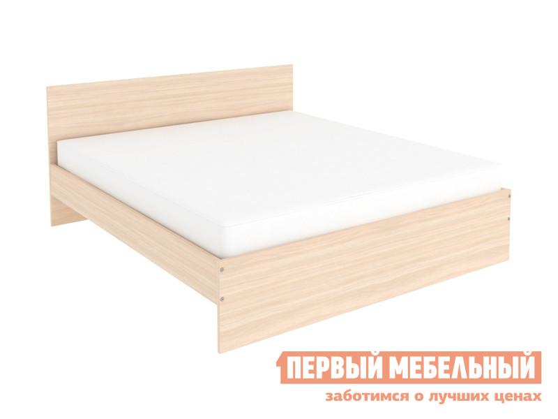 Двуспальная кровать  Кровать Мерлен Молочный дуб, 1400 Х 2000 мм — Кровать Мерлен Молочный дуб, 1400 Х 2000 мм