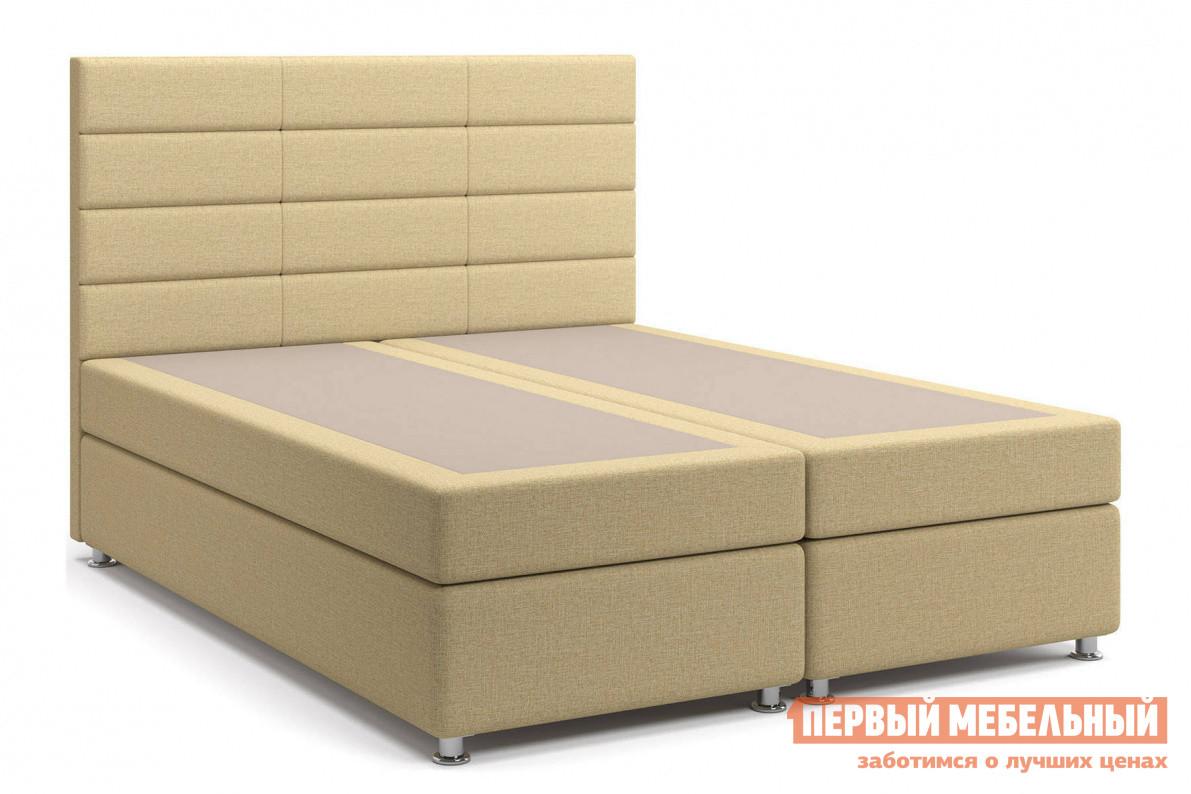 Двуспальная кровать с матрасом СтолЛайн Кровать Бриз Box Spring (с матрасом), независимый пружинный блок
