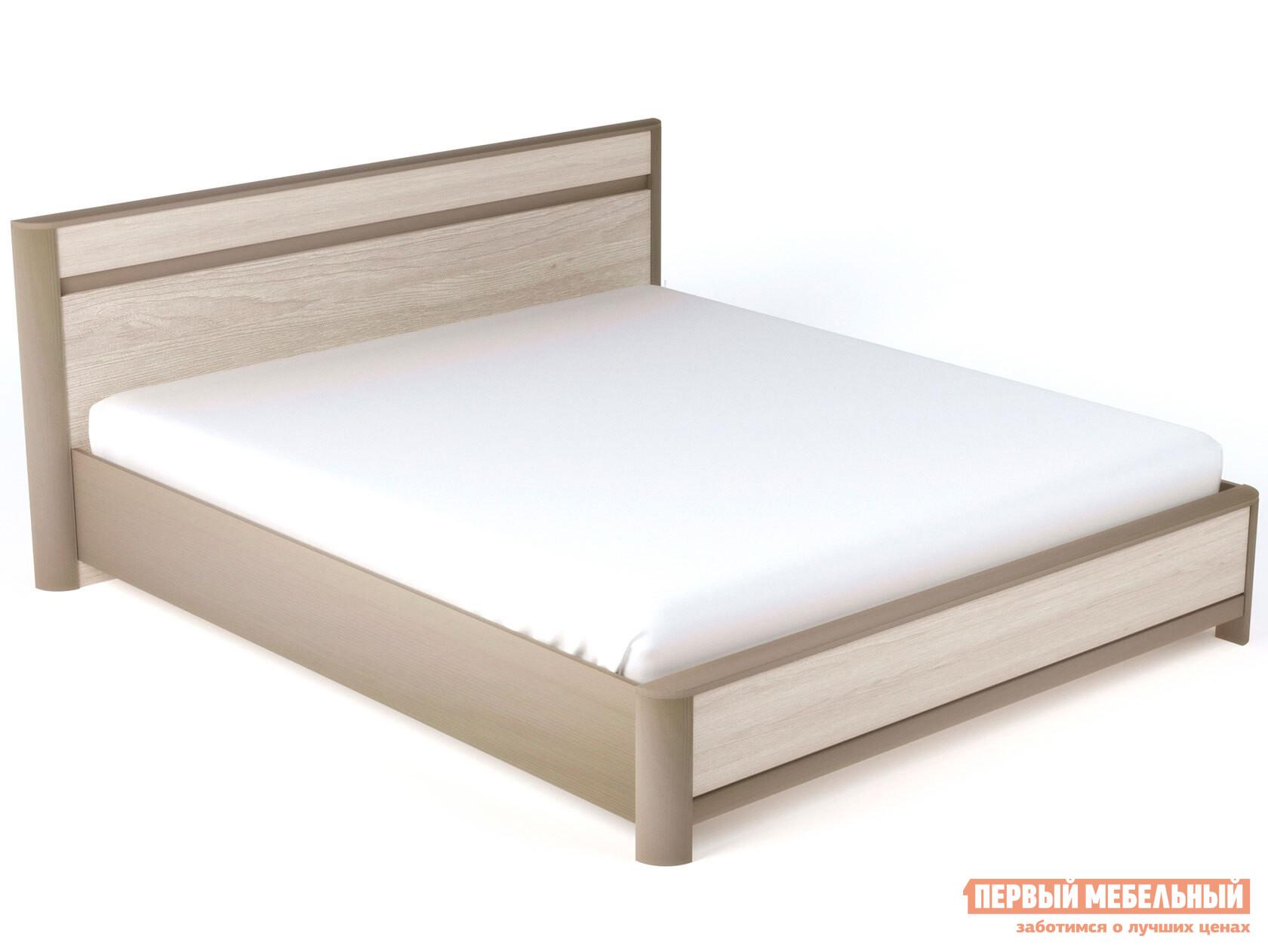 Двуспальная кровать Первый Мебельный Кровать Лацио NEW двуспальная кровать орматек como 7