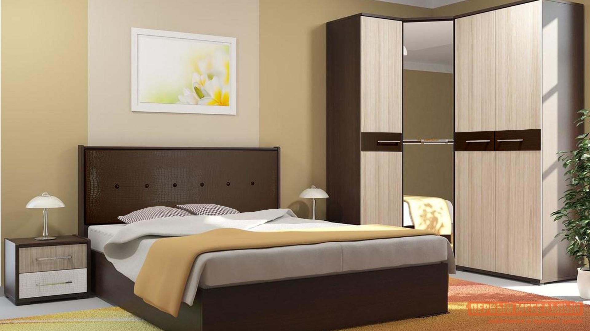 Кровать с подъемным механизмом Первый Мебельный Луиза