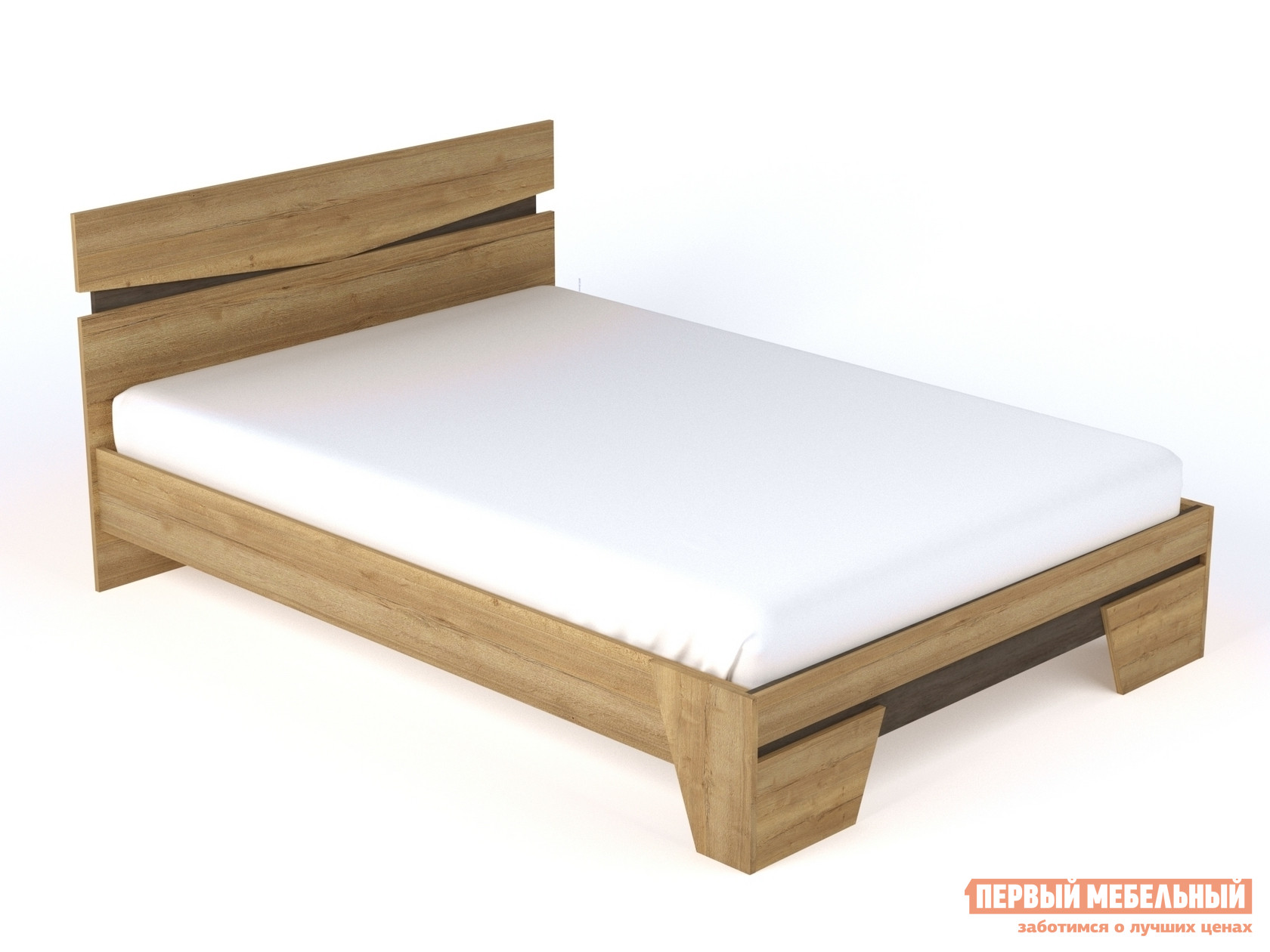 Двуспальная кровать Первый Мебельный Стреза 2 ящик первый мебельный ящик для кровати стреза new