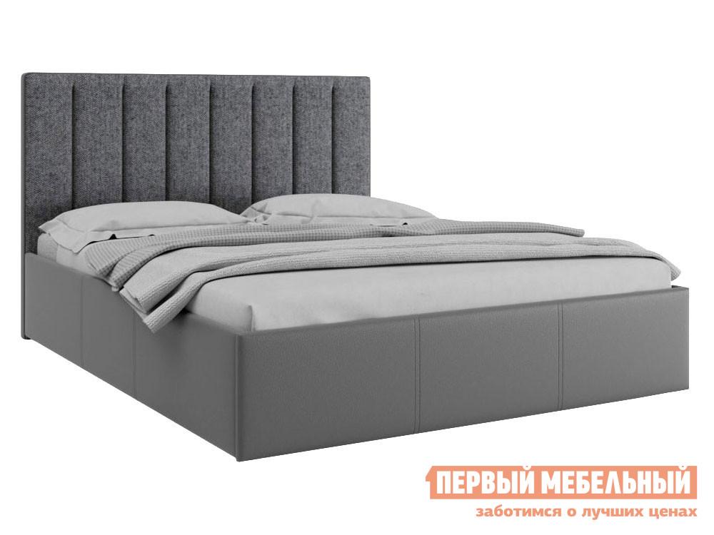 Кровать с подъемным механизмом Первый Мебельный Кровать с подъемным механизмом Прага 160х200
