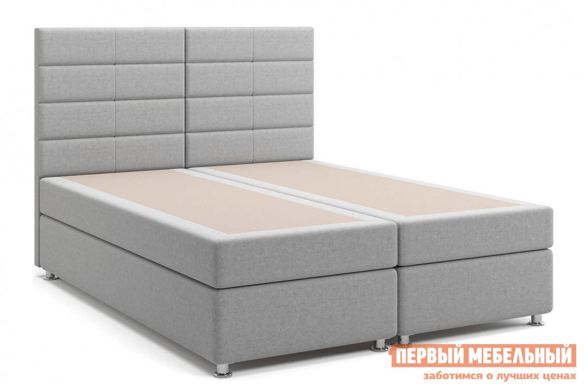 Двуспальная кровать с матрасом СтолЛайн Кровать Гаванна Box Spring (с матрасом), независимый пружинный блок