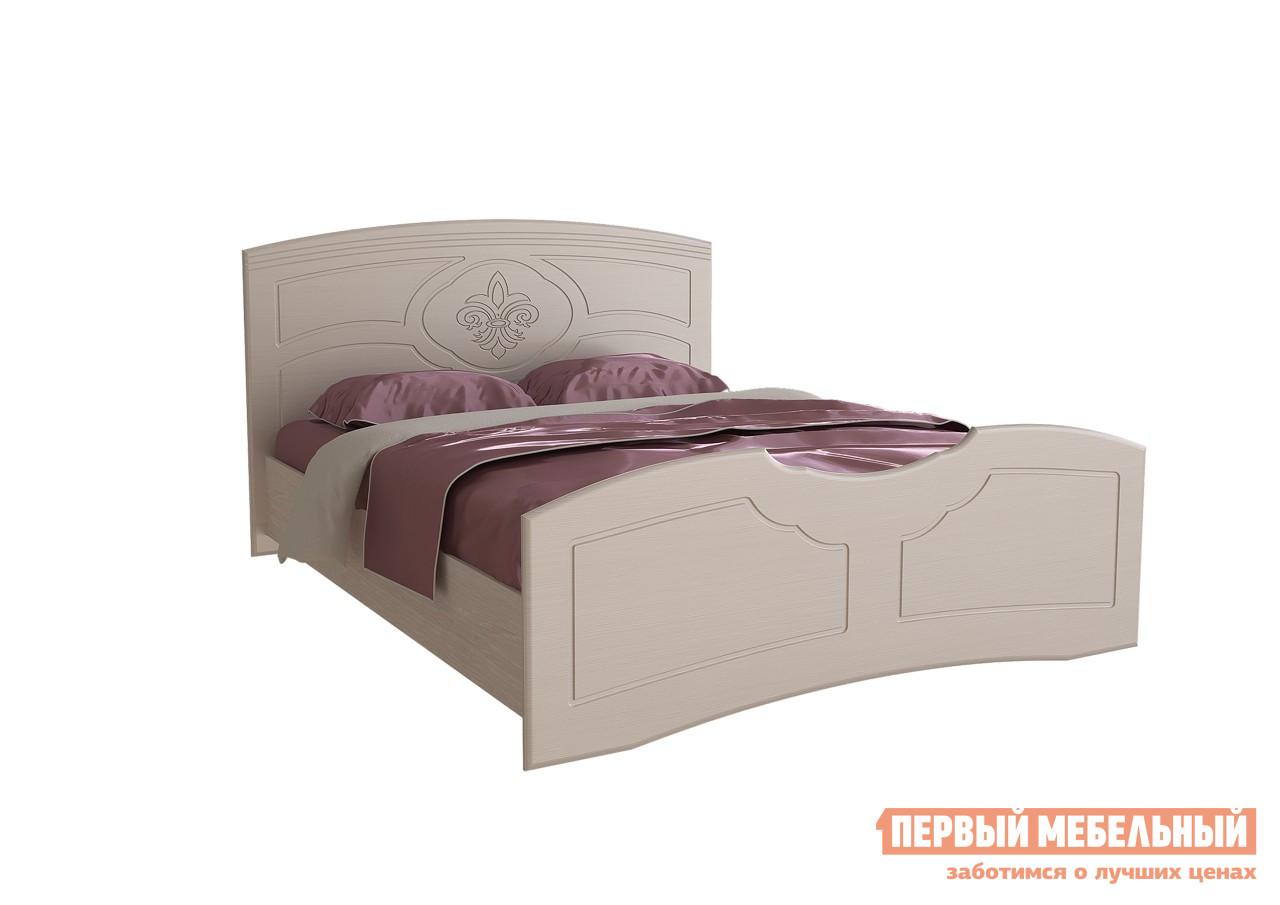 Двуспальная кровать Первый Мебельный Кровать Лилия 160х200