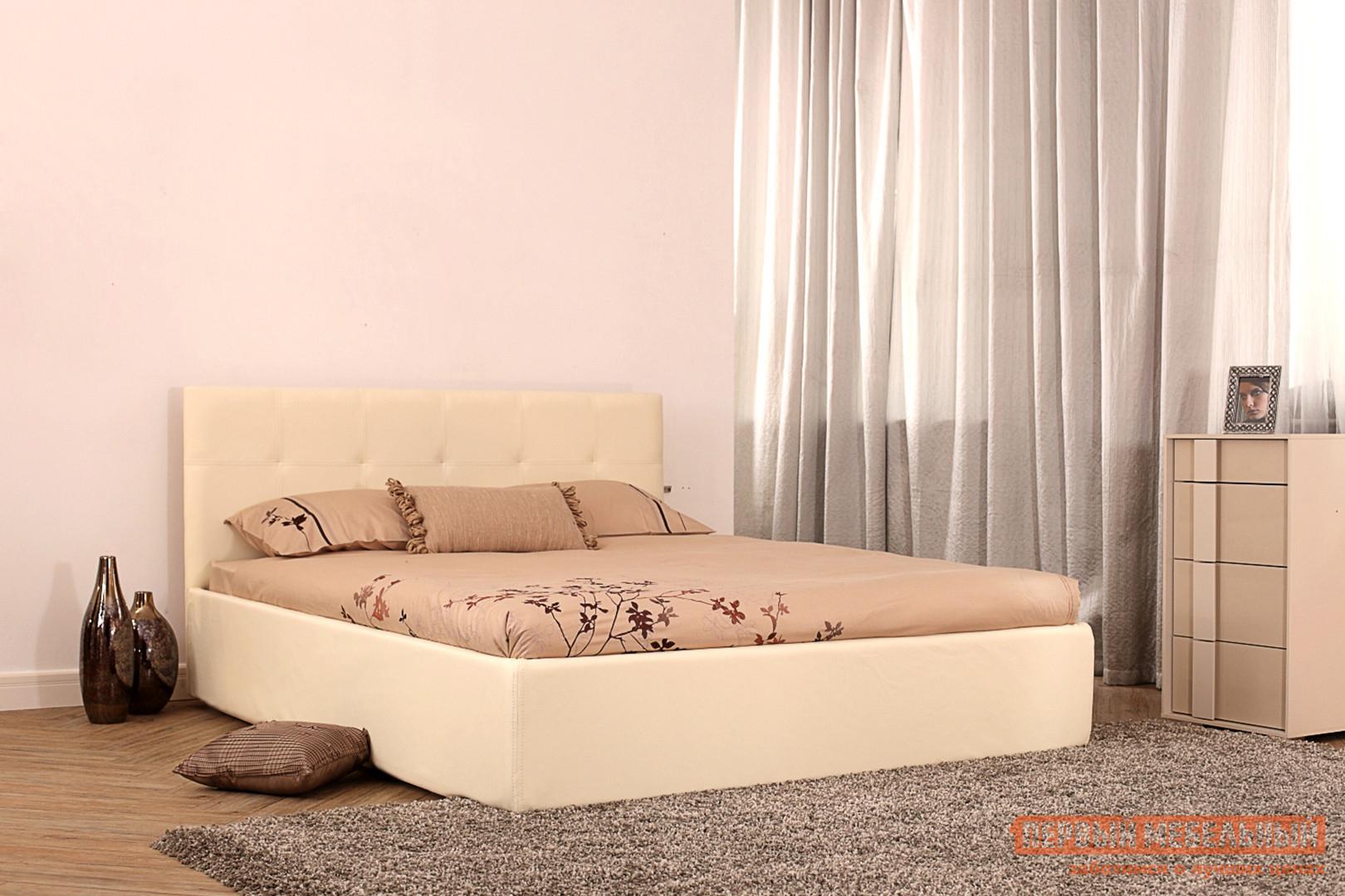 Двуспальная кровать Первый Мебельный Кровать Монако 140х200, 160х200, 180х200 кровать амели 180х200