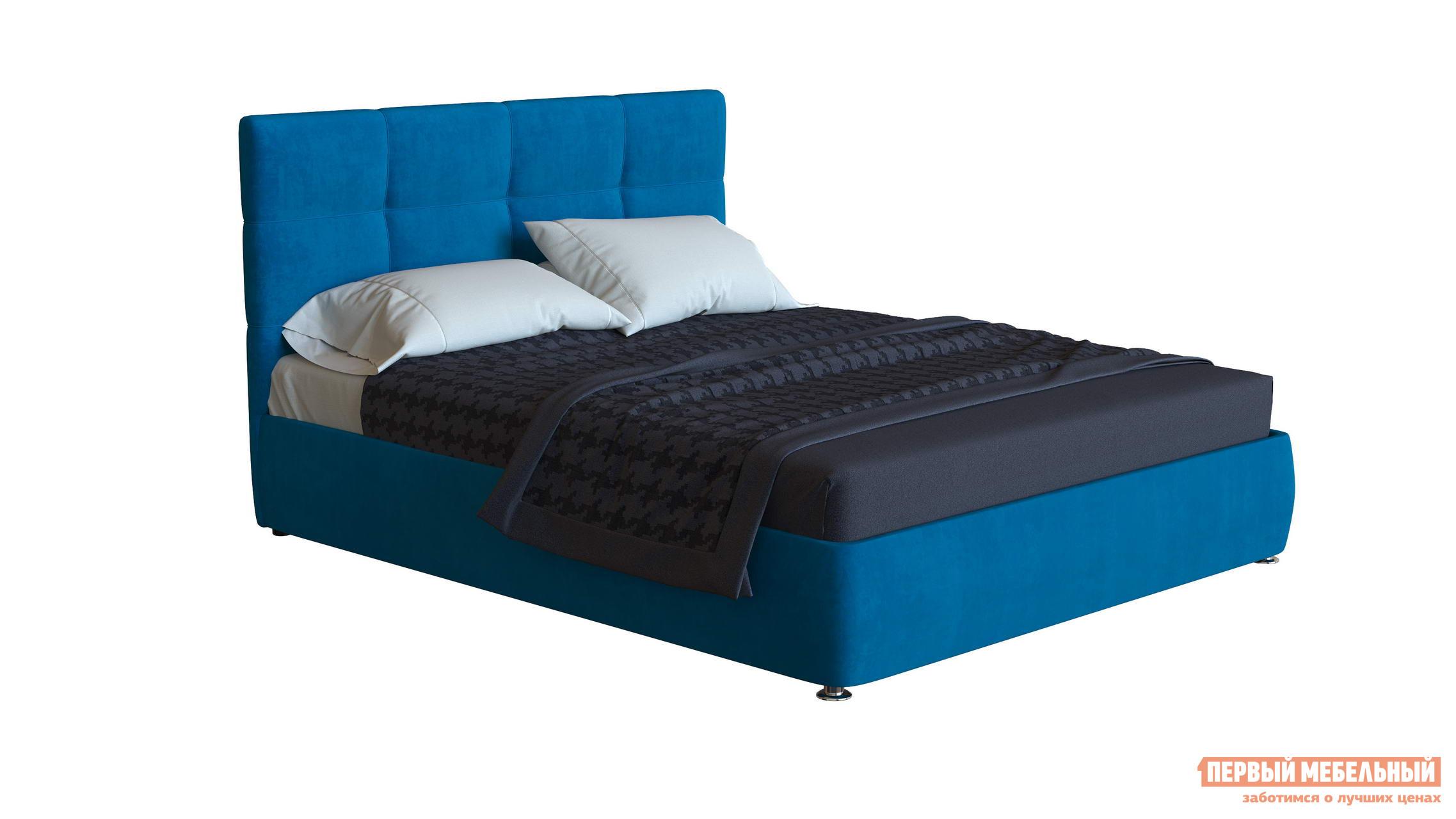Двуспальная кровать Первый Мебельный Кровать Варна 140х200, 160х200, 180х200 двуспальная кровать первый мебельный кровать мерлен 140х200 160х200 180х200