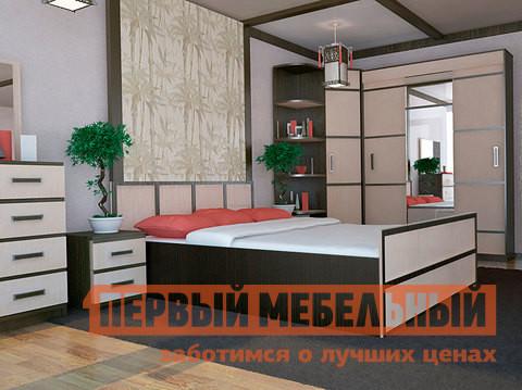 Двуспальная кровать с ящиками Первый Мебельный Сакура ДК диван кровать фреско дк mebelvia