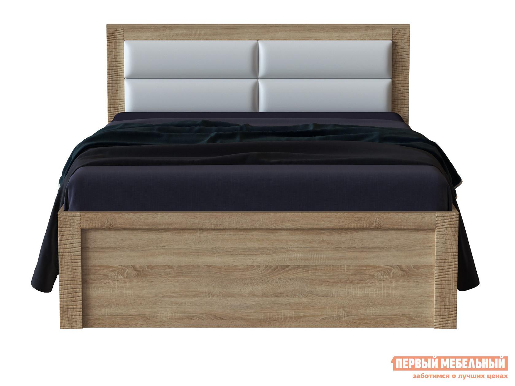 Двуспальная кровать с ортопедическим основанием Первый Мебельный Кровать Элегия