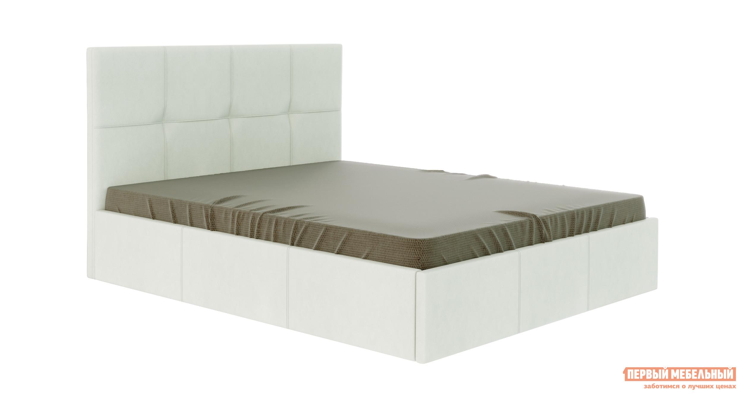 Двуспальная кровать ПМ Лана Белый, 160х200