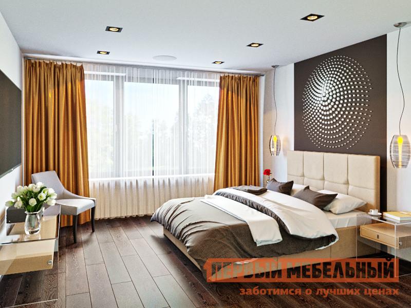 Кровать с подъемным механизмом Первый Мебельный Лана