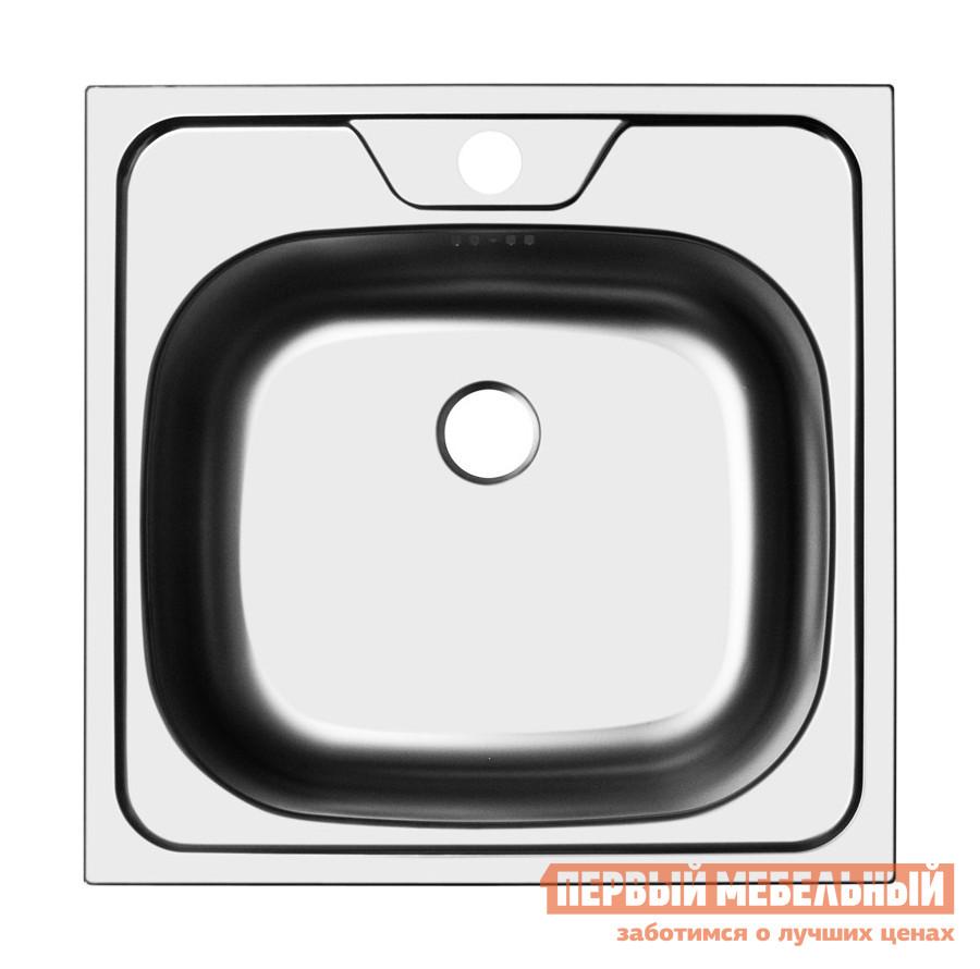 Квадратная врезная мойка Первый Мебельный Мойка Ukinox Classic 480.480 кухонная мойка ukinox clm 560 435 5k 2l