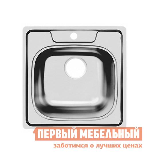 Квадратная врезная мойка Первый Мебельный Мойка Ukinox Comfort 503.503 полированная кухонная мойка ukinox clm 560 435 5k 2l