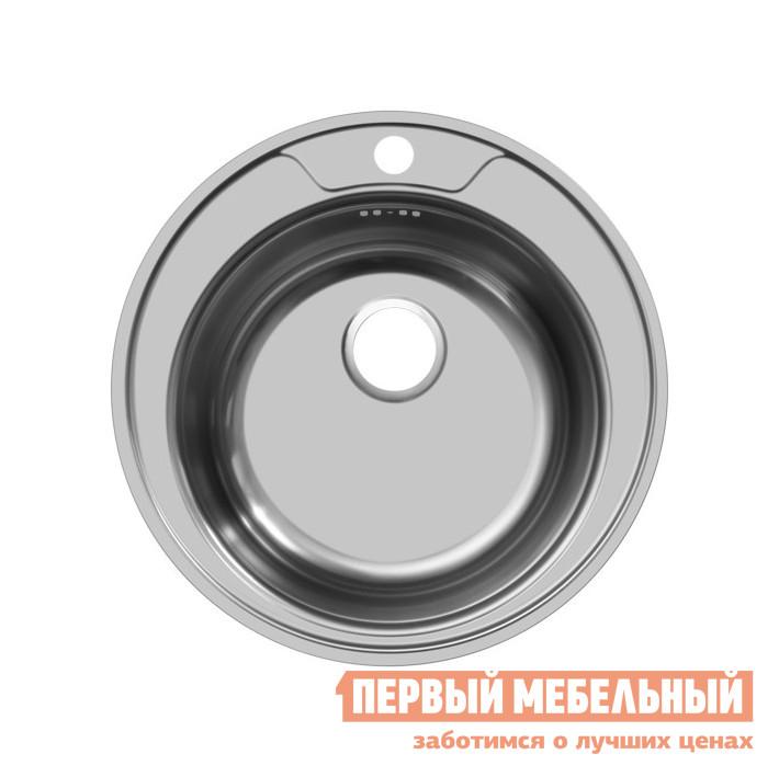 Круглая врезная мойка Первый Мебельный Мойка Ukinox Favorit 510, полированная кухонная мойка ukinox clm 560 435 5k 2l