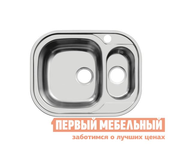Фото Прямоугольная врезная мойка Первый Мебельный Мойка Ukinox Galant 628.488.15