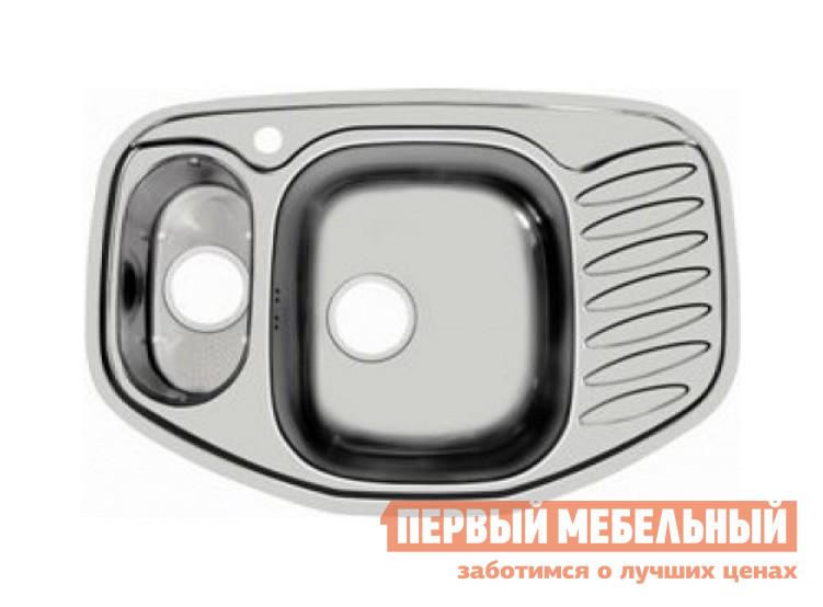 Угловая врезная мойка Первый Мебельный Мойка Ukinox Comfort 776.507 15 полированная кухонная мойка ukinox clm 560 435 5k 2l