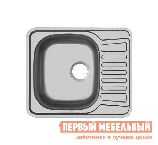 Врезная мойка Первый Мебельный Мойка Ukinox Comfort 580.488 матовая, правая мойка врезная ukinox фаворит правая 760х470х150мм матовая