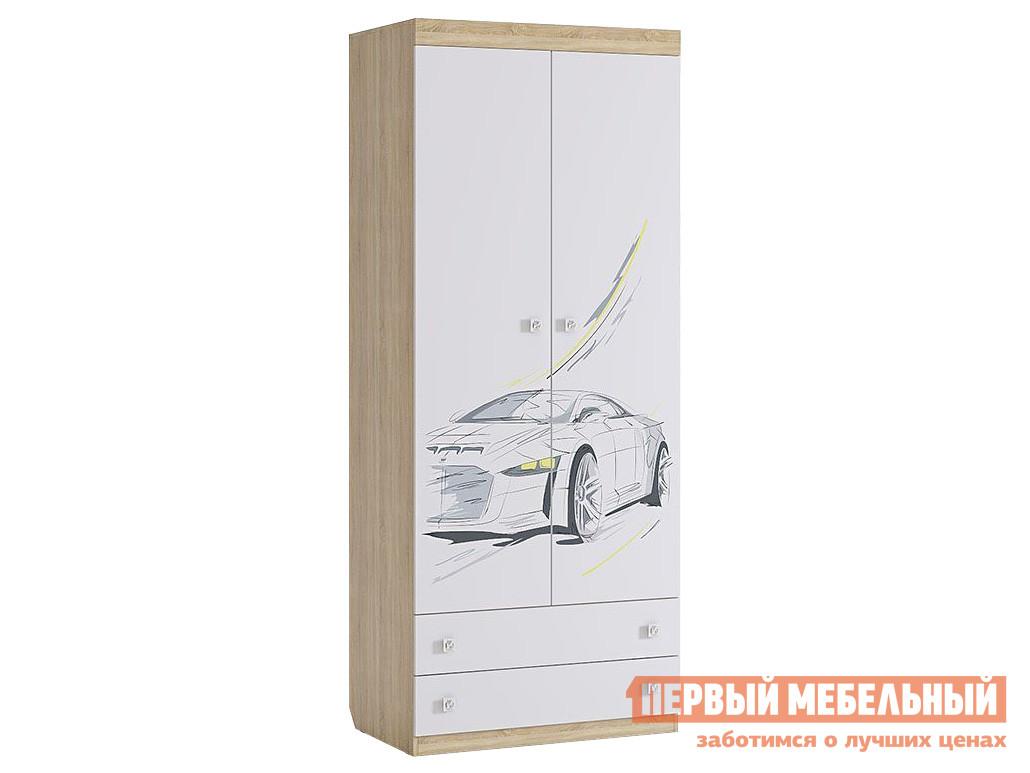 Детский шкаф Первый Мебельный Шкаф Форсаж MKF-01.1623