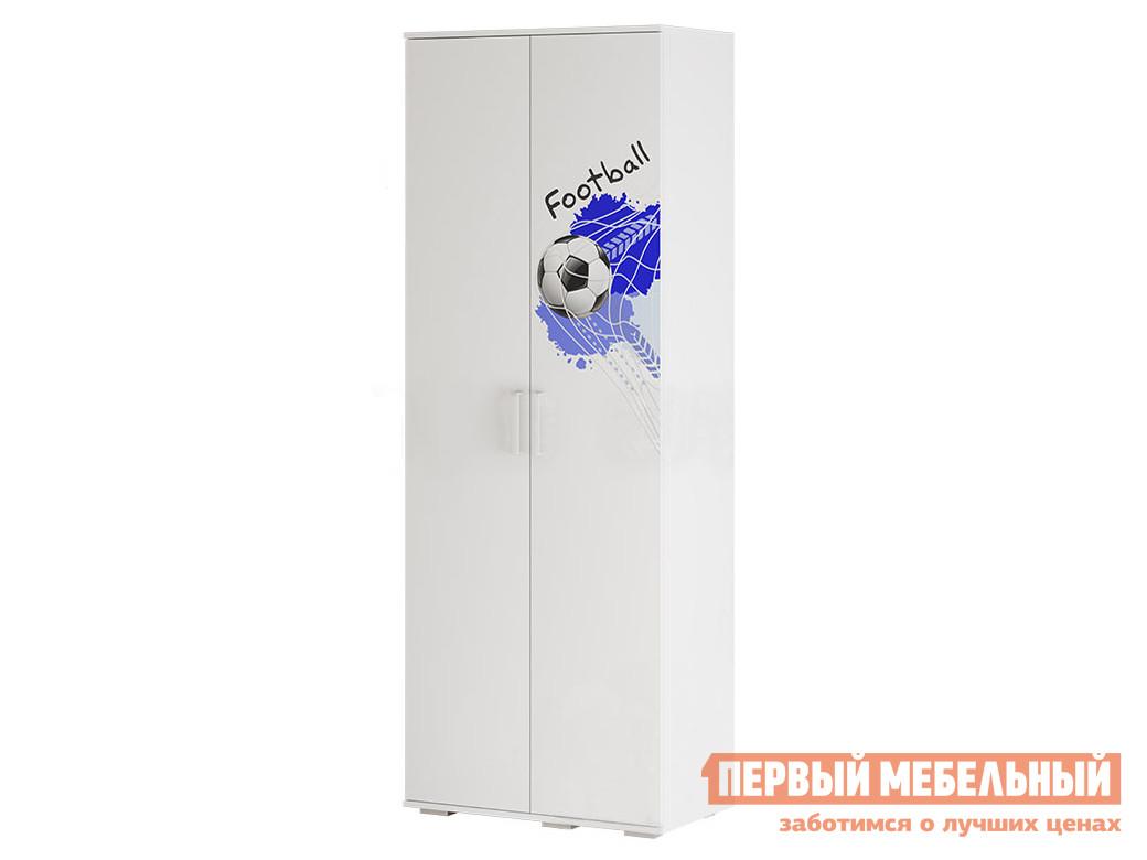 Шкаф детский Трио шкаф для одежды ШК-09 Белый, король спорта фото