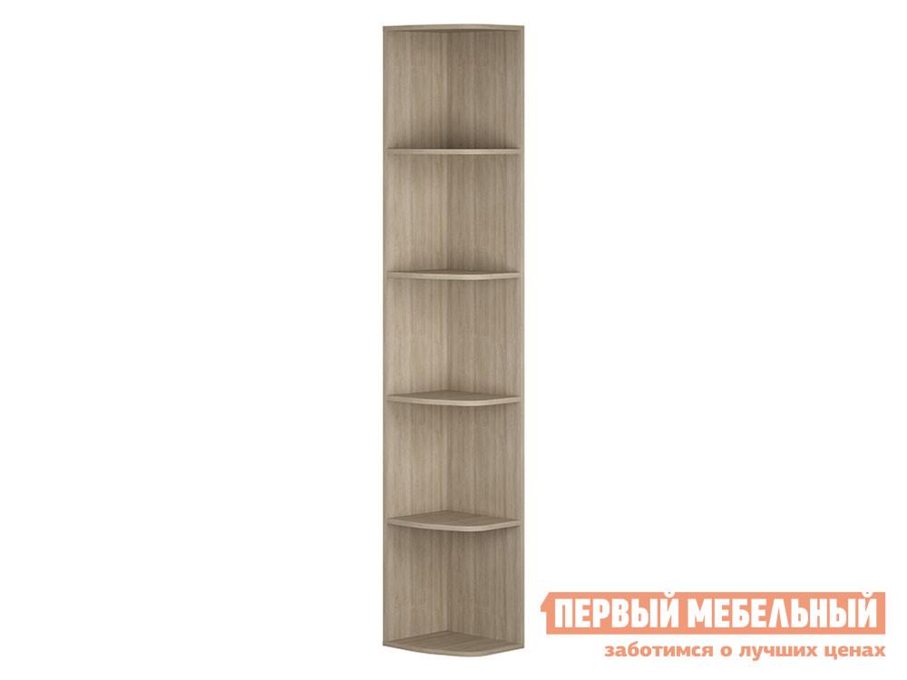 цена на Торцевой стеллаж Первый Мебельный Стеллаж торцевой Палермо 3 Юниор