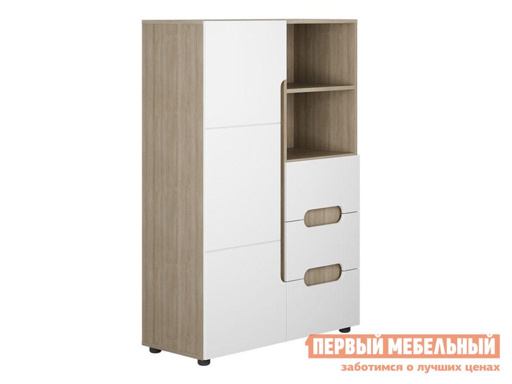 Детский шкаф Первый Мебельный Шкаф 1 ств. полки+ящики Палермо 3 Юниор