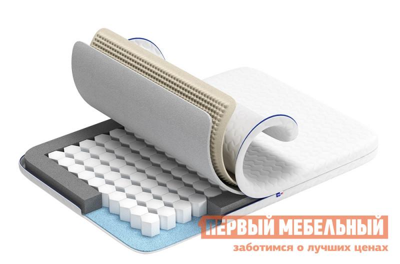 Пружинный матрас  Анатомика А 505 Жесткий 90х200, Белый