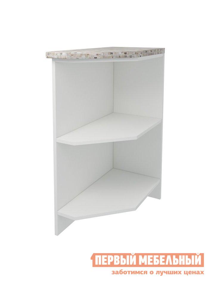 Кухонный модуль Первый Мебельный Стол открытый торцевой скошенный 30 см Агава