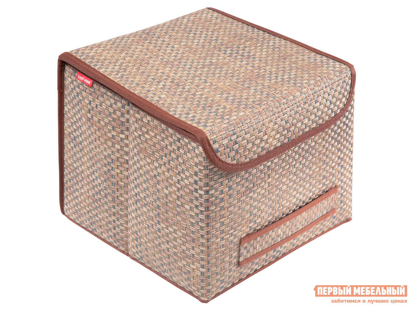 Кофр  Коробка для хранения с крышкой 30х30х24см Бежевый