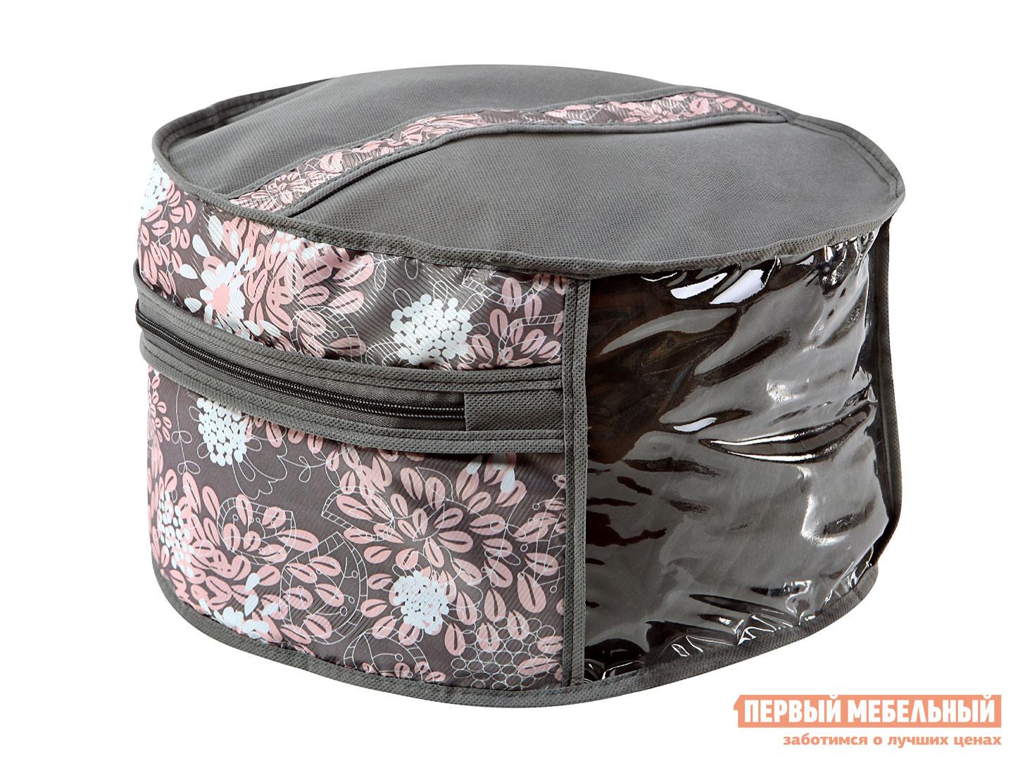 Чехол для шапок Первый Мебельный Чехол для шапок, диаметр 35см