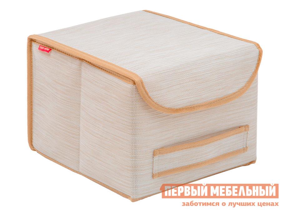 Кофр для хранения с крышкой Первый Мебельный Коробка для хранения с крышкой 25х27х20см