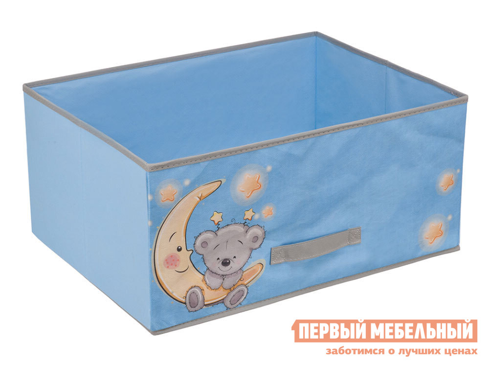 Кофр  Мишка Голубой, нетканый материал Магамакс 130200