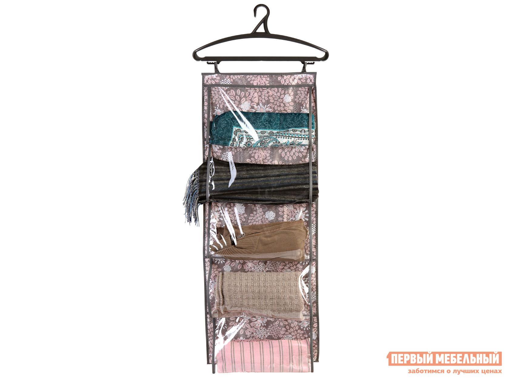 Кофр для одежды Первый Мебельный Кофр для одежды, 5 карманов, 105х40см кофр первый мебельный кофр малый 30х30х20см