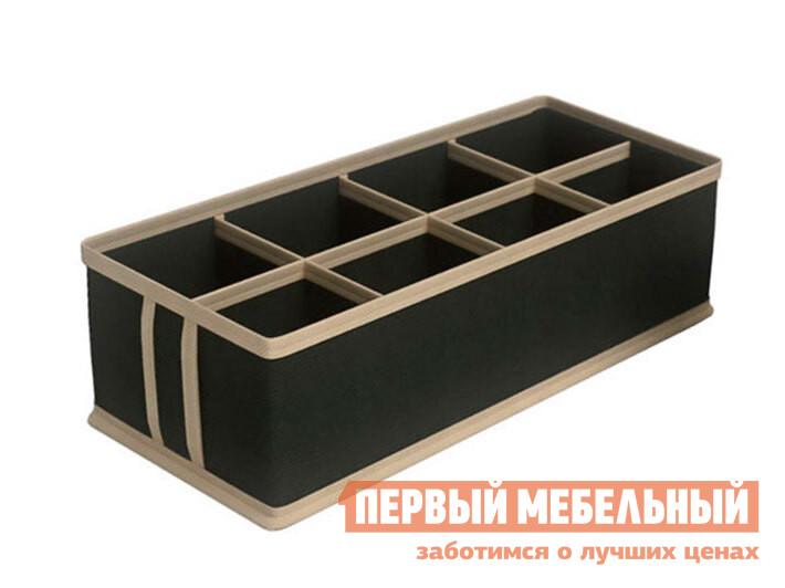 Кофр Чехол для мелочей 8 ячеек Черный, спанбонд фото