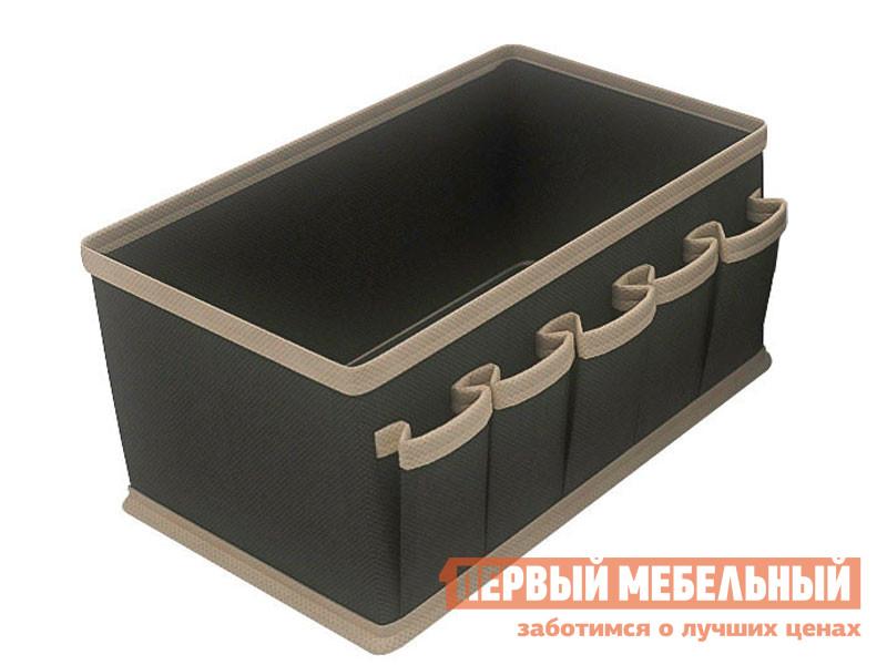 Кофр Чехол для мелочей жесткий Черный, спанбонд фото