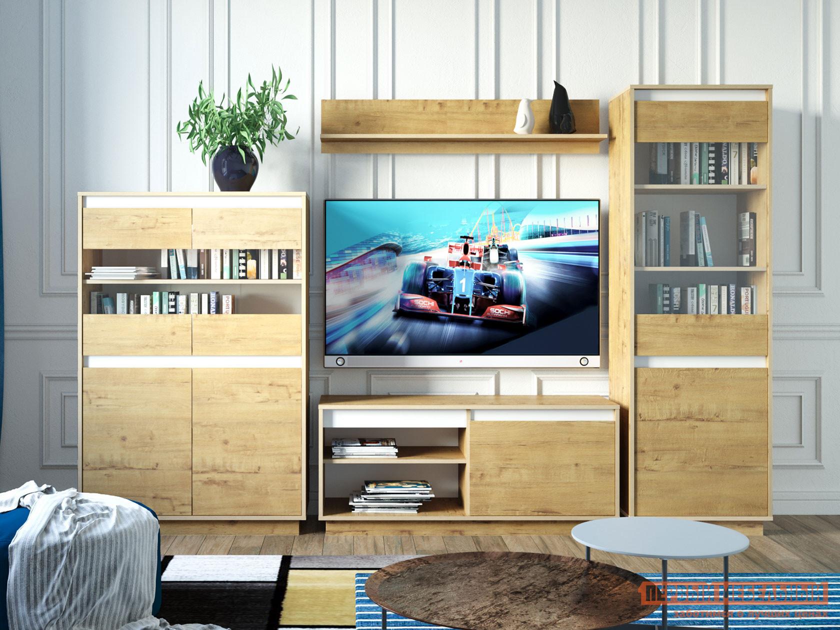 Гостиная Первый Мебельный Гостиная VIRGINIA комплектация 4 гостиная первый мебельный гостиная virginia комплектация 3