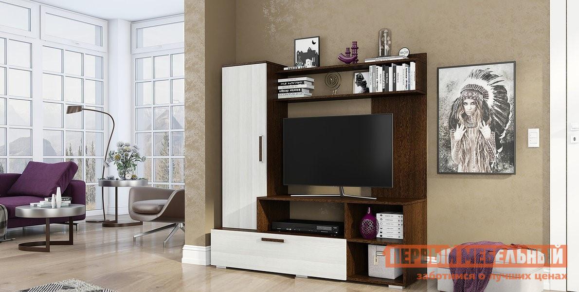 Стенка в гостиную Первый Мебельный Евро-2 стенка в гостиную первый мебельный марсель