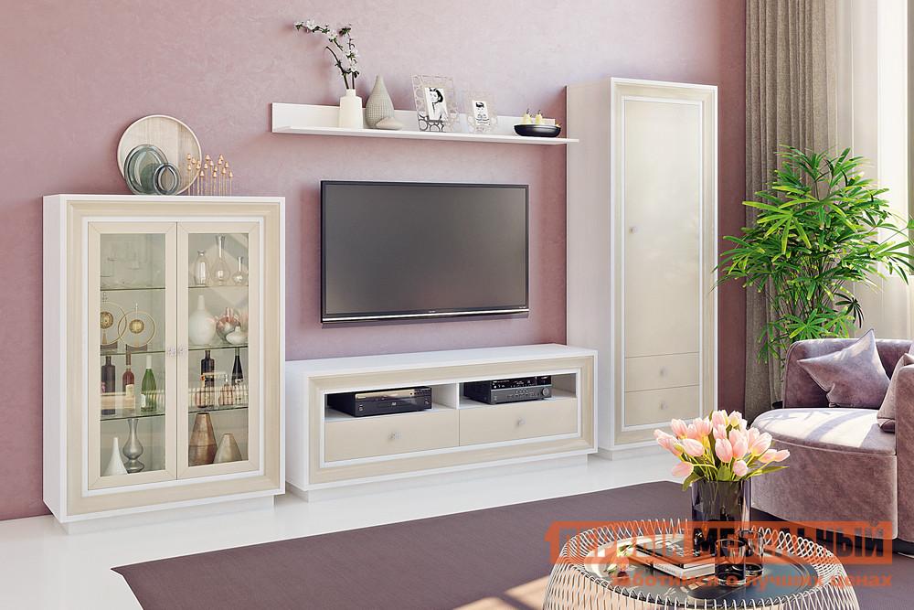 Стенка в гостиную в классическом стиле Первый Мебельный Прато 2 К3